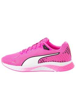 Puma - SPEED SUTAMINA 2 - Chaussures de running neutres - luminous pink/white/black