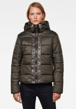 G-Star - MEEFIC HOODED PADDED  - Winterjacke - asfalt