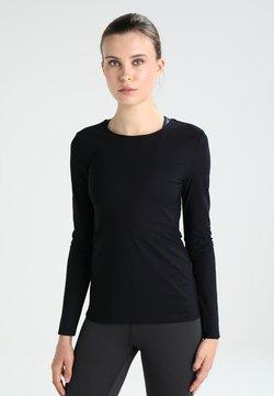 Filippa K - SMOOTH DANCE  - Langarmshirt - black