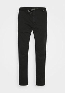 Calvin Klein - CARGO PANT - Trousers - black