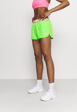BIDI BADU - TIIDA TECH SHORTS - kurze Sporthose - neon green/pink
