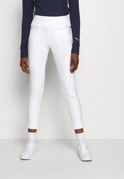 Puma Golf - PANT - Stoffhose - bright white