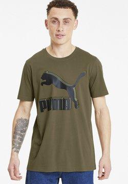 Puma - CLASSICS - T-Shirt print - burnt olive