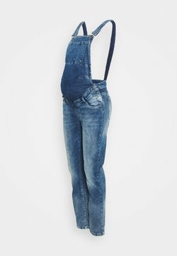 LOVE2WAIT - DUNGAREE - Salopette - used wash