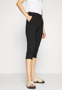 ONLY Petite - ONLPOPTRASH EASY CAPRI PANT  - Pantalones - black