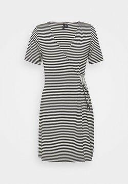 Vero Moda Petite - VMKATE SHORT DRESS - Jerseykleid - black/white