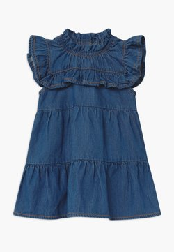 Name it - NBFBATALLE BABY - Jeanskleid - medium blue denim