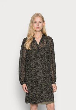 Esprit Collection - DRESSES LIGHT WOVEN - Blusenkleid - khaki green