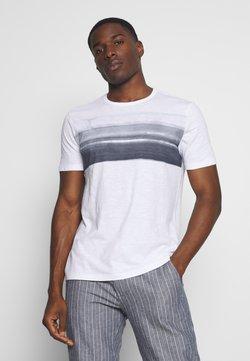 Marc O'Polo - T-Shirt print - white/mood indigo