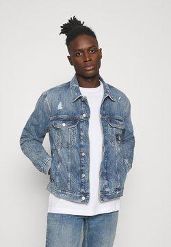 Calvin Klein Jeans - REGULAR JACKET - Veste en jean - light blue