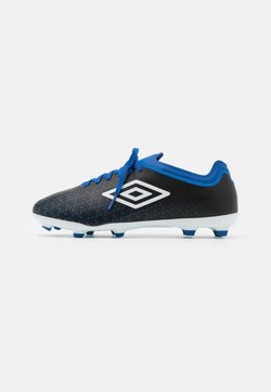 Umbro - VELOCITA V PREMIER FG - Moulded stud football boots - black/white/victoria blue