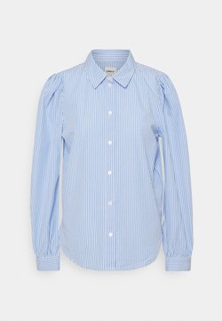 ONLY - ONLBETTY  LIFE  SLIM  - Camisa - white/blue