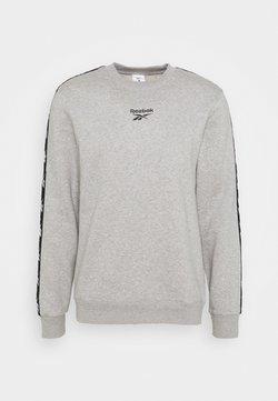 Reebok - TAPE CREW - Collegepaita - medium grey heather