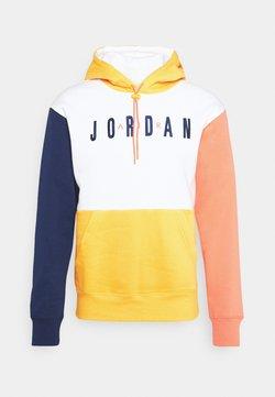 Jordan - JUMPMAN AIR - Sweatshirt - white/university gold