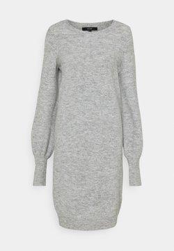 Vero Moda Tall - VMSIMONE O NECK DRESS - Jumper dress - light grey melange