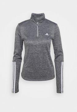 adidas Performance - Langarmshirt - mottled grey