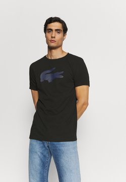 Lacoste - T-shirt imprimé - noir