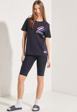 Superdry - SPORTSTYLE ESSENTIAL - Tights - deep navy