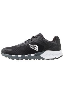 The North Face - FLIGHT TRINITY - Zapatillas de trail running - dark shadow grey/black