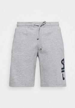 Fila - ROBERT - Träningsshorts - light grey merlange