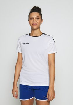 Hummel - HMLAUTHENTIC  - Camiseta estampada - white