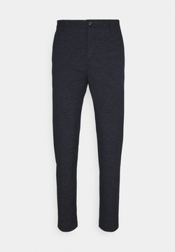 Calvin Klein Tailored - STRETCH PANTS - Stoffhose - blue