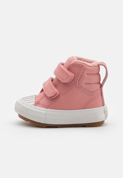 Converse - CHUCK TAYLOR ALL STAR BERKSHIRE  - Baskets montantes - rust pink/pale putty