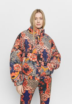 Free People - POWER HOUSE PUFFER - Talvitakki - midnight combo