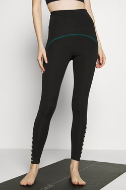 South Beach - STRAP LEGGING - Medias - black