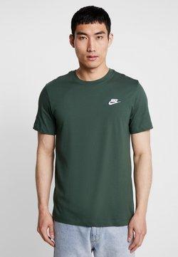 Nike Sportswear - CLUB TEE - T-shirt basic - galactic jade/white