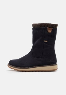 TOM TAILOR - Botas - navy