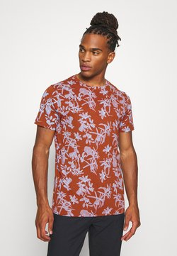 Nerve - JANNIK TEE - Print T-shirt - picante