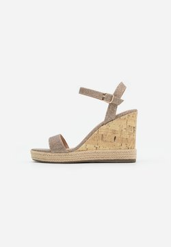 New Look - PERTH  - Sandales à talons hauts - gold