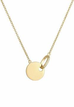 Elli DIAMONDS - COIN CIRCLE - Halsband - gold coloured