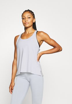 Under Armour - KNOCKOUT TANK - Funktionsshirt - halo gray