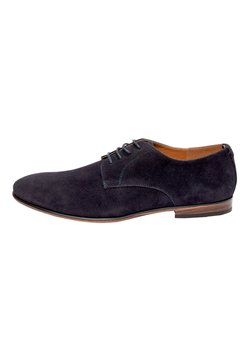 Next - NAVY MICROSUEDE DERBY SHOES - Business-Schnürer - blue