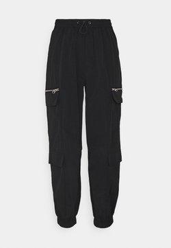 ONLY - ONLELIZABETH TRACK PANT - Jogginghose - black