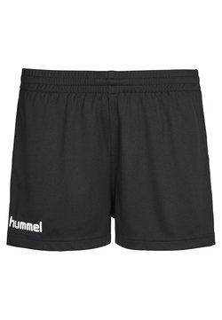 Hummel - CORE - Korte broeken - mottled black