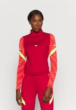 Nike Performance - STRIKE21 - Tekninen urheilupaita - gym red/bright crimson/volt/volt
