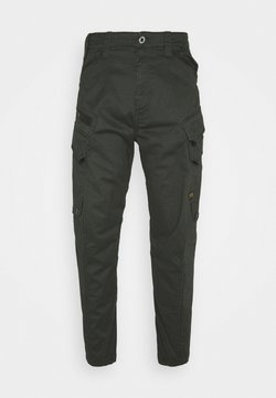 G-Star - DRONER RELAXED TAPERED CARGO PANT - Cargohose - stretch asfalt
