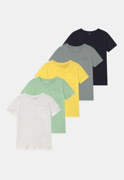 Name it - NMMSAZU 5 PACK - T-shirt basic - pastel green