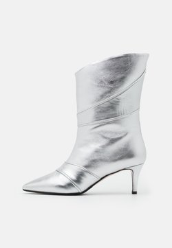 Oxitaly - SARA  - Stiefelette - silver