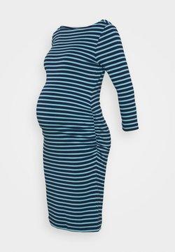 GAP Maternity - MODERN BOATNECK DRESS - Jerseykleid - elysian blue stripe
