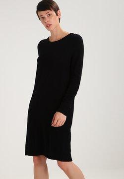 Vila - VIRIL DRESS - Gebreide jurk - black