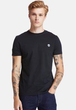 Timberland - SS DUNSTAN RIVER - T-shirt imprimé - black