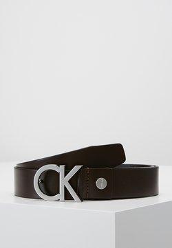 Calvin Klein - BUCKLE BELT - Gürtel - brown