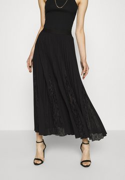 Guess - LUISA SKIRT - Pleated skirt - jet black