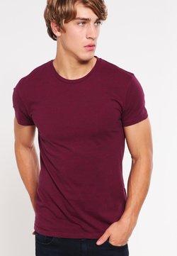 Samsøe Samsøe - KRONOS STRIPE - T-Shirt print - rumba red