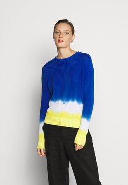 Lauren Ralph Lauren - GASSED  - Strickpullover - dark blue