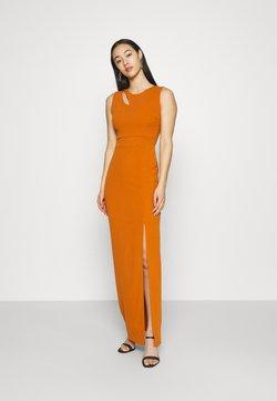 WAL G. - MELANIA CUT OUT DRESS - Robe de cocktail - orange